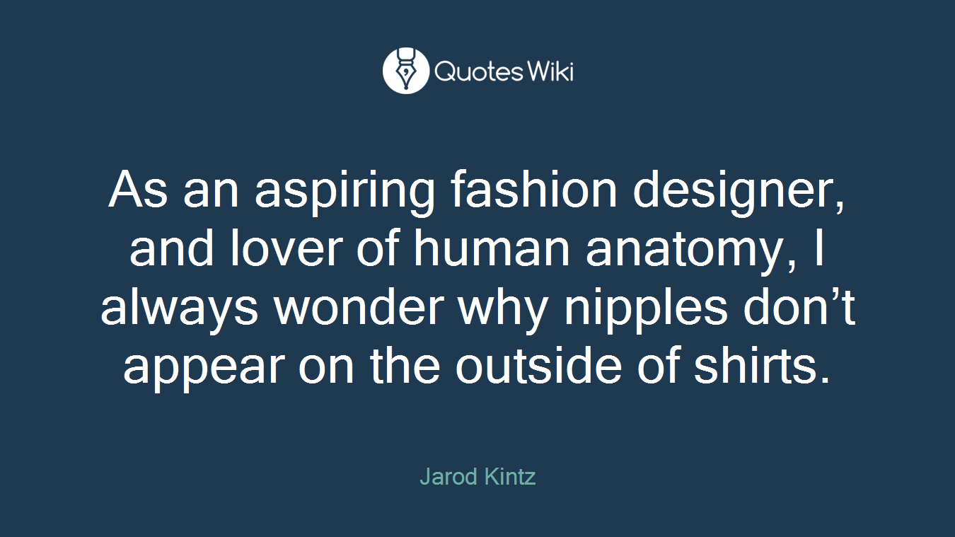 As An Aspiring Fashion Designer And Lover Of H