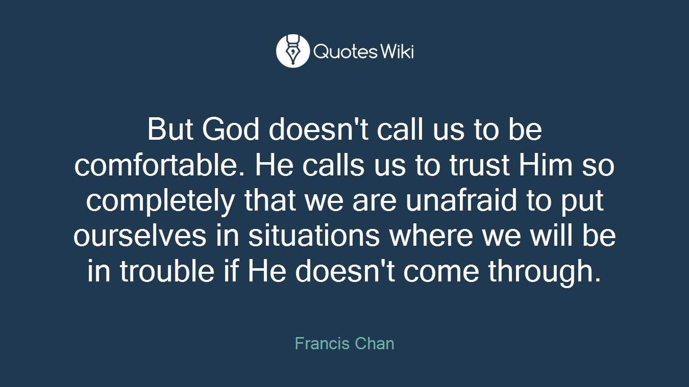 trust him completely
