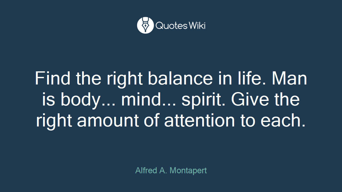 Balanced Life Quotes Balancedlife Quotes  Quotes Wiki
