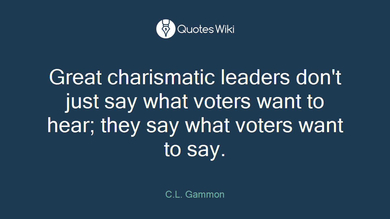 non charismatic leaders Learn about charisma and what makes some people more charismatic than others develop the skills you need to become more charismatic.