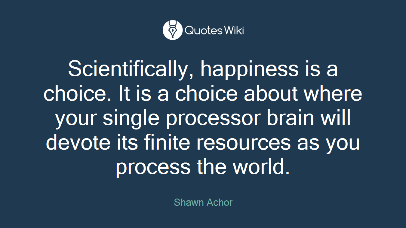 Shawn Achor Quotes Shawn Achor's Quotes At Quotes Wiki