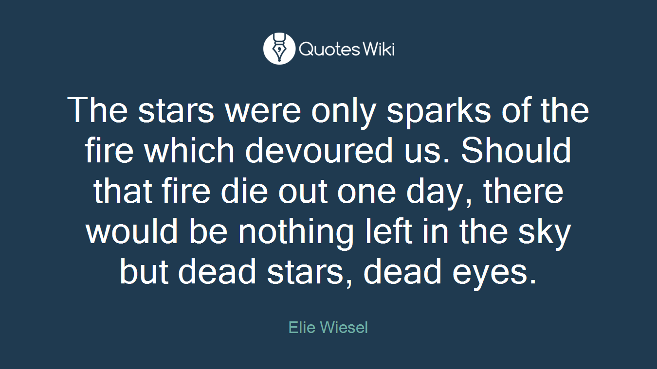 Night By Elie Wiesel Quotes Elie Wiesel's Quotes At Quotes Wiki