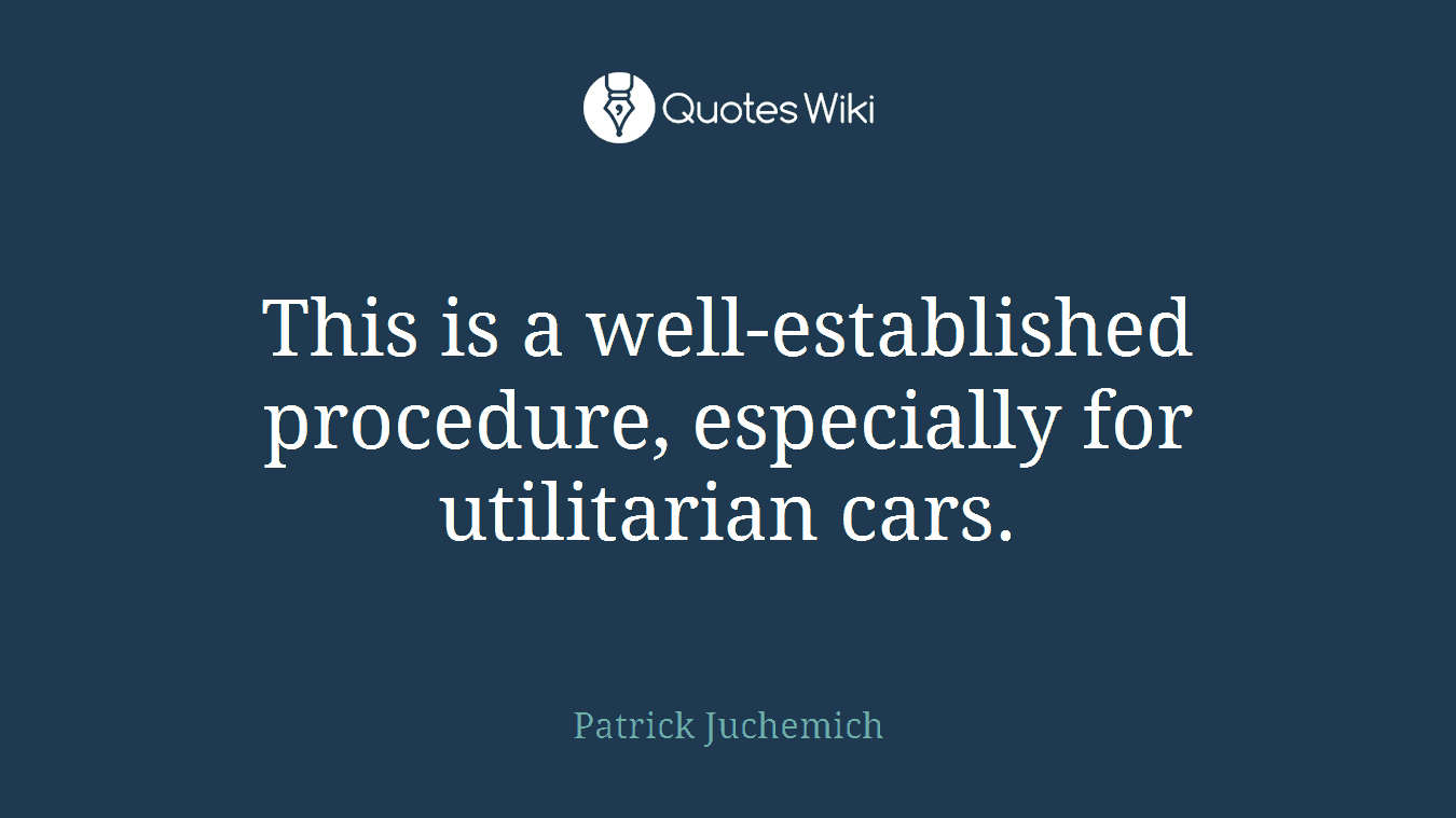 This is a well-established procedure, especially for utilitarian cars.