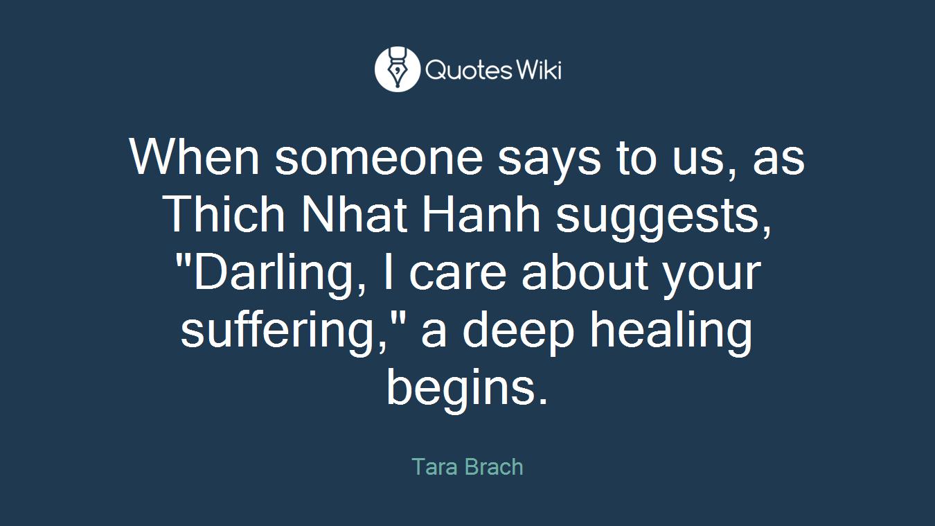 Tara Brach Quotes Tara Brach's Quotes At Quotes Wiki