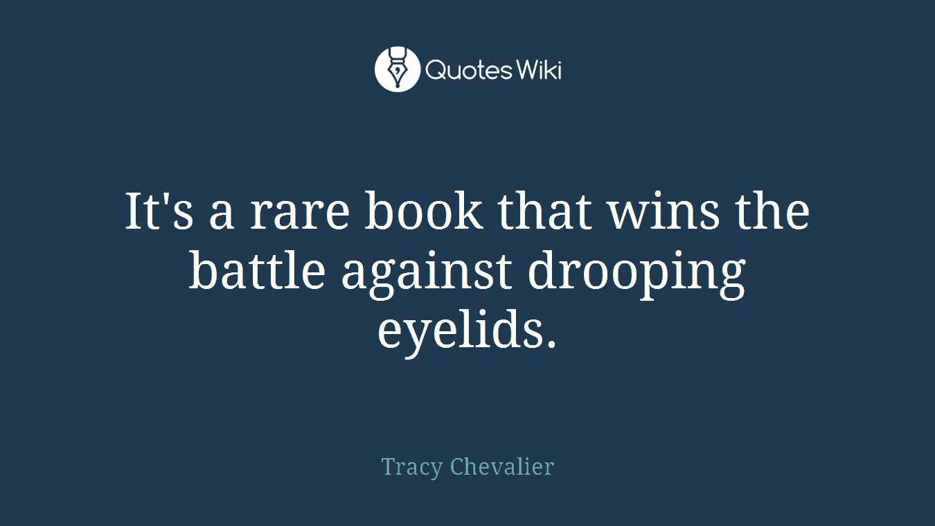 It's a rare book that wins the battle against drooping eyelids.