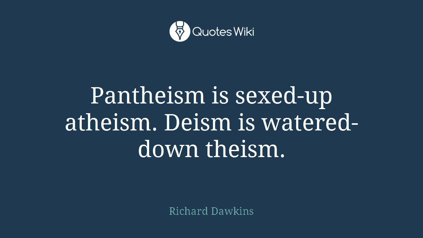 theism atheism deism
